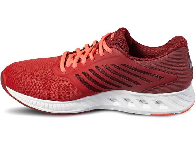 asics FuzeX Hardloopschoenen Dames rood